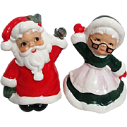 Josef Original Santa and Mrs. Claus Salt and Pepper Set
