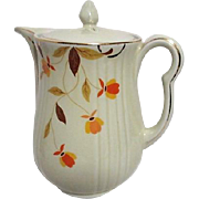 Jewel Tea Autumn Leaves Coffee Pot by Hall