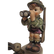 Hummel Figurine 1955 Boy with Binoculars Good Hunting