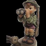 Hummel Figurine 1955 Boy with Binoculars Good Hunting