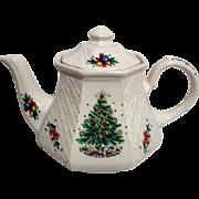 Sadler Teapot Christmas Eve Salem
