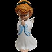 Praying Christmas Angel Music Box Figurine