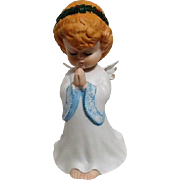 Praying Christmas Angel Music Box Figurine