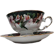 Lena Liu Anna's Hummingbird Cup and Saucer Bradford Edition