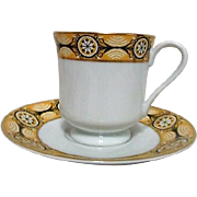 Cup and Saucer from Woodmere China James Madison Pattern