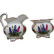 Aynsley English Bone China Cream and Sugar Set
