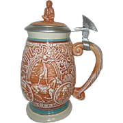 Avon Beer Stein Celebrating Buffalo Bill's Wild West Show