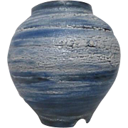 Blue and White Pottery Vase Crimmel