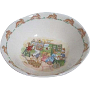 Bunnykins Cereal/Porridge Bowl by Royal Doulton