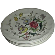 Set of 4 Bread & Butter Plates Spode Gainsborough Pattern Copeland England