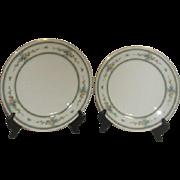 Noritake Amenity Pattern 2 Dinner Plates