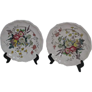 2 Spode Gainsborough Dinner Plates