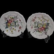 2 Spode Gainsborough Dinner Plates
