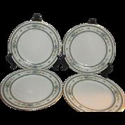 Noritake Amenity Pattern 4 Salad Plates