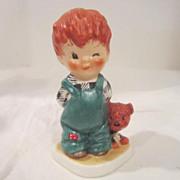"""Vintage Goebel Red-Headed Kid """"Roving Eye"""" from West Germany"""