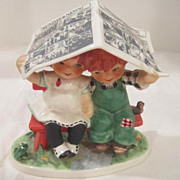 Vintage Goebel Red Headed Figurine from Wes s