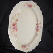 Vintage Porcelain Serving Plate Lido W S George