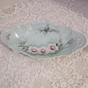 Vintage Small Hand Painted Vanity Dish
