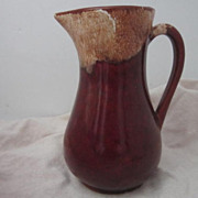 Vintage Roseville, Ohio Milk Pitcher by RRPC