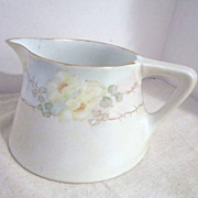 Vintage Vignaud Limoges Hand Painted Pitcher