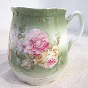 Vintage Porcelain Mustache Cup