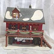 Department 56 North Pole Village Santa's Woodworks