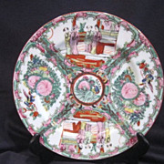 Oriental Decorator Plate Rose Medallion