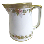Nippon Hand Painted Cream/Milk Pitcher