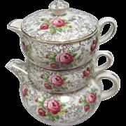 Three Piece Stacking Tea Set by James Kent Ltd England