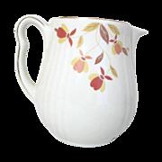 Hall's Jewel Tea, Autumn Leaf, Milk Pitcher/jug