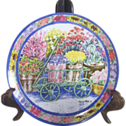Mary Paul Plate Flower Vendor Vandor Japan