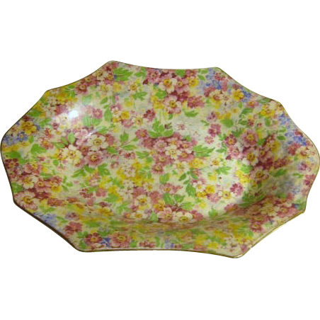"""Apple Blossom"" Chintz Bowl by James Kent LTD England"