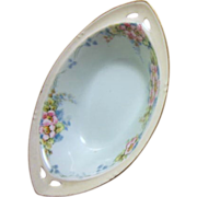 "Small Hand Painted Lusterware Bowl ""RS"" Germany"