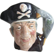 Long John Silver Royal Doulton Figural Mug/Creamer