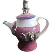 Porcelain Crazy Rogues Tea Pot