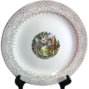 Royal China Colonial Gold Meat Platter