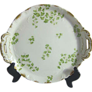 Ch. Field Haviland Limoges France Two Handled Platter