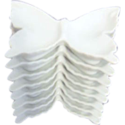 Set of 8 Butterfly Individual Sauce Dishes