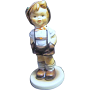 "Hummel ""For Keeps"" Young Boy in Lederhosen"
