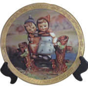 Hummel Plate 2 Sisters