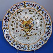 Italian Maiolica/faience Plate
