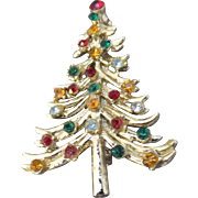 Christmas Tree Pin, c. 1940's