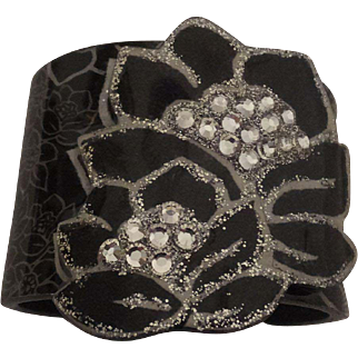 Gorgeous Jeweled Cuff Bracelet