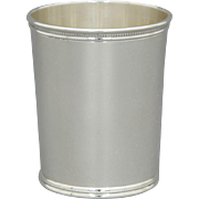 Wakefield-Scearce Sterling Silver Mint Julep Cup Richard Nixon