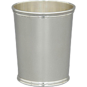 Wakefield-Scearce Sterling Silver Mint Julep Cup Richard Nixon 2nd Term