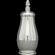 Royal Danish Sterling Silver Cocktail Shaker by International