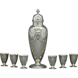 Sterling Silver Cocktail Set by International Silver