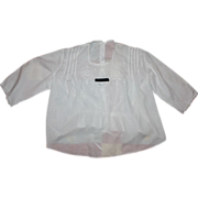 Antique Victorian White Blouse Late 1800s
