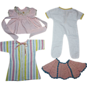 Baby Doll Clothing for Tiny Tears and Friends 1950s
