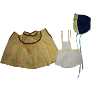 Two Darling Doll Outfits for Effanbee Patsy Ann and Friends 1930s